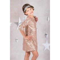 Jazz Dress - Rose Gold