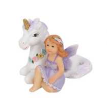 5cm Unicorn Fairy - Purple
