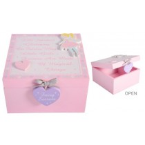Glitter Fairy Keepsake Box