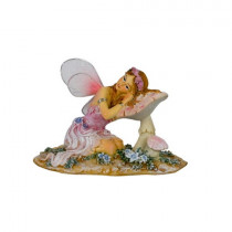 8cm Glitter Fairy - Pink