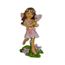 8.5cm Flower Fairy - Pink