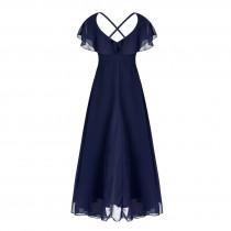 Aaralyn Dress - Navy