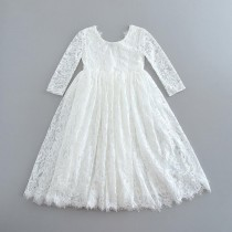 Aaralyn Dress - White