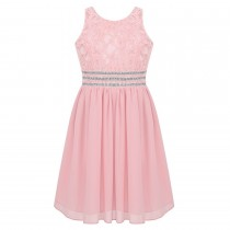 Alyssa Dress - Blush