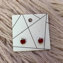 Pierced Earrings - Apples