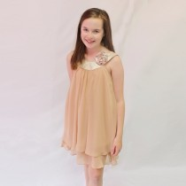Ashleigh Dress - Taupe