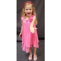 Ashleigh Dress - Pink - RRP: $79