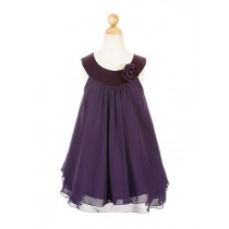 Ashleigh Dress - Purple