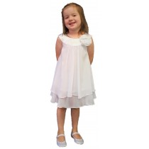 Ashleigh Dress - White - RRP: $79