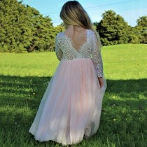 Aubry Dress - Blush