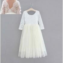 Aubry Dress - Ivory