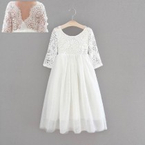 Aubry Dress - White