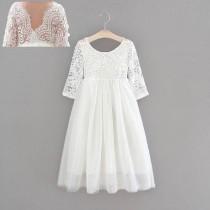 Aubry Dress - White