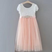 Ava Dress - Blush