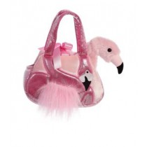 Fancy Pals Ava Pink Flamingo Pet Carrier