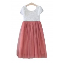 Ava Dress - Rose