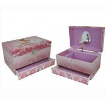 Medium Rose Ballerina Medium Music Box