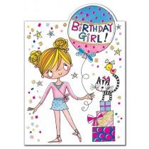 Rachel Ellen Card - Little Ballerina