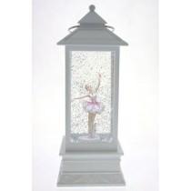 Glitter Light Up Lantern - Ballerina