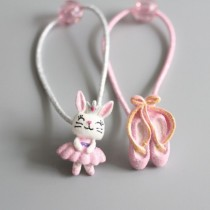 Ballerina Hair Ties (2pc)