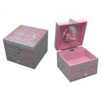 Rose Ballerina Small Music Box