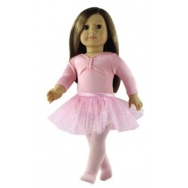 "18"" Ballet Girl Doll Outfit"