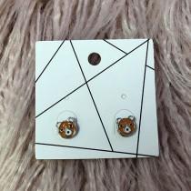 Pierced Earrings - Bear