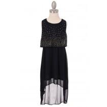 Becca Dress - Navy - Size 5/6