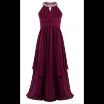 Bethany Dress - Burgundy