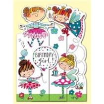 Rachel Ellen Fairy Birthday Princess Card