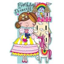 Rachel Ellen Card - Princess Unicorn