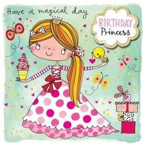 Rachel Ellen Birthday Princess Birthday Card