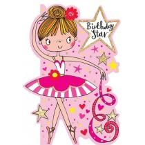 Rachel Ellen Card - Birthday Star