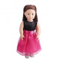 "18"" Black & Pink Dress"