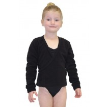 Ballet Crossover Fleece - Black