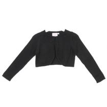 Knit Pearl Cardigan - Black