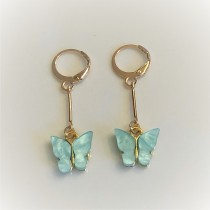 Ara DesigNZ - Butterfly Earrings - Blue