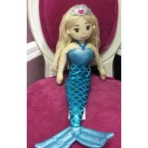 Mermaid Doll - 45cm - Blue Princess