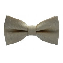 Kids Spotted Bow Tie - Champagne *Estimated Arrival 14th Feb*
