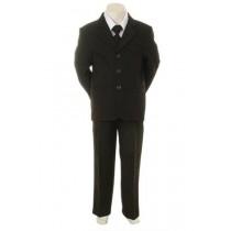 Boys Formal Suit - Black (Size 2)