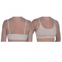Dance Bra Top - Flesh