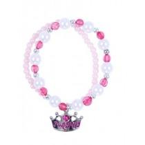 *Pink Poppy Sweetness & Charms Bracelet - Hot Pink