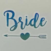 Temporary Tattoo - Holographic - Bride