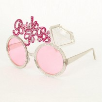 Bride to Be Novelty Glasses
