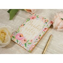 Bride's Notes Floral A6 Journal