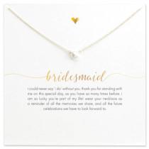 Bridesmaid Necklace - Gold