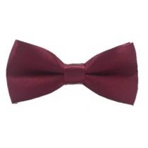 Kids  Bow Tie - Burgundy