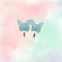 Clip On earrings - Butterflies