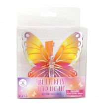 LED Light Up Butterfly - Multi Yellow *COMING AUGUST*
