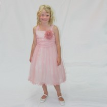 Clara Dress - Dusty Rose - Size 5/6